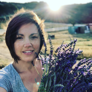Homeschool plant based kitchen lavender farm life