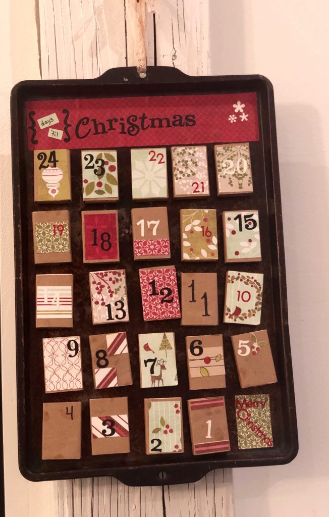 DIY Christmas countdown, 25 Christmas countdown  activities
