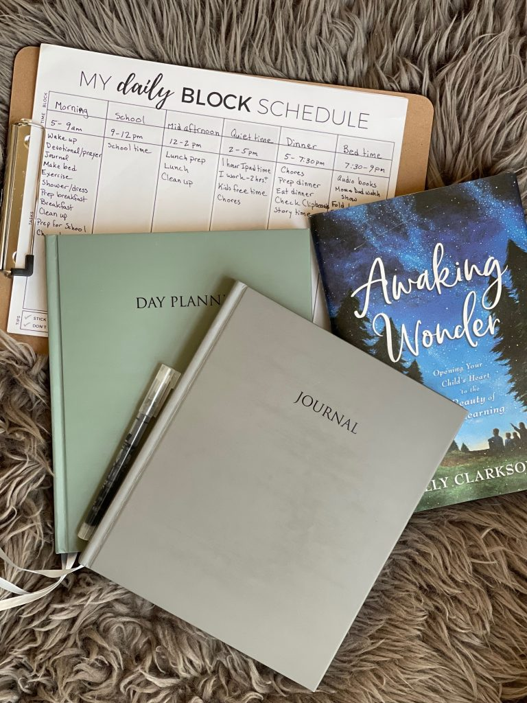 Starting the year off successfully, morning routines, journal